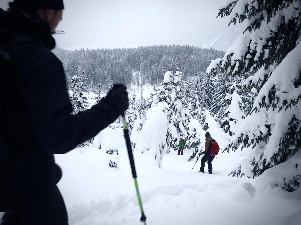 Schneeschuhwandern auf der Hornspitz