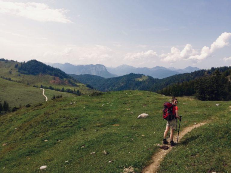 Hochebene im Kaisergebirge