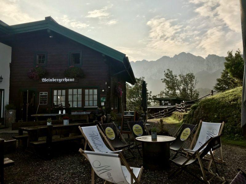 Weinbergerhaus am Brentenjoch - Einkehr Kaisertour