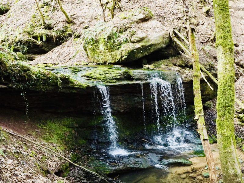 Wasserfall Wanderweg Römerpfad