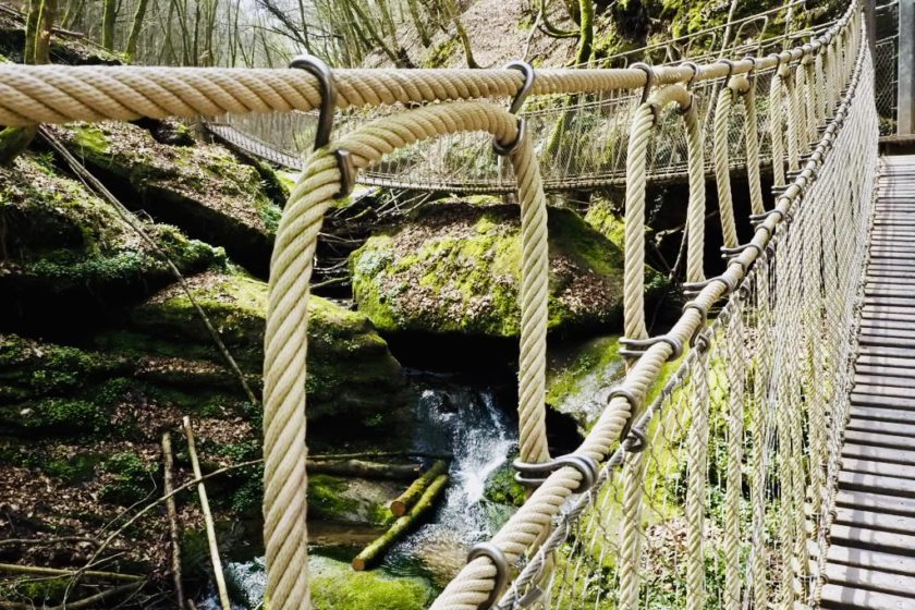 Hängebrücken im Butzerbachtal