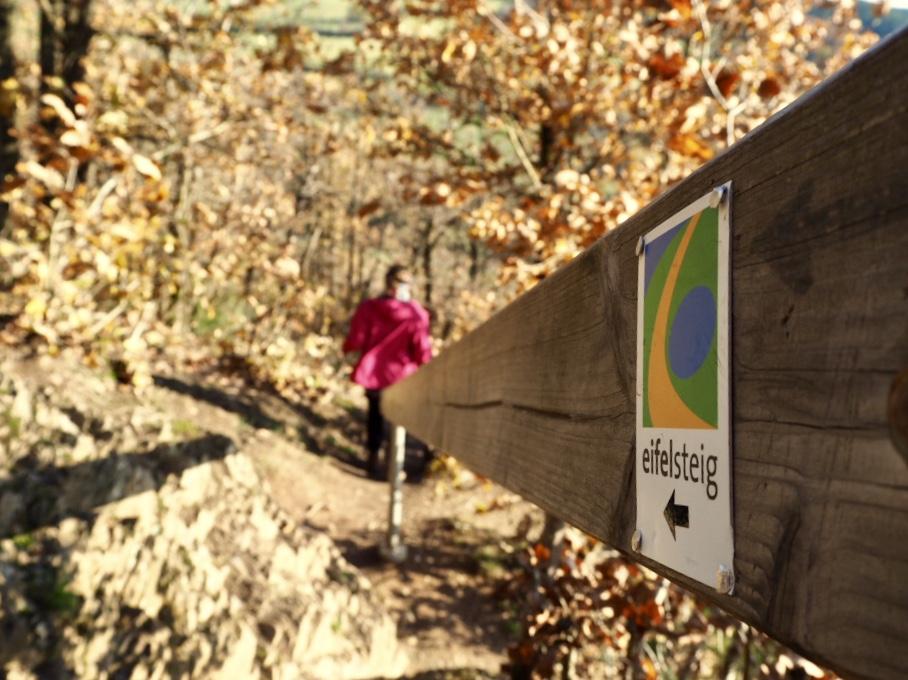 Wandern auf dem Eifelsteig Etappe 5 von Schleiden-Gmünd bis Kloster Steinfeld