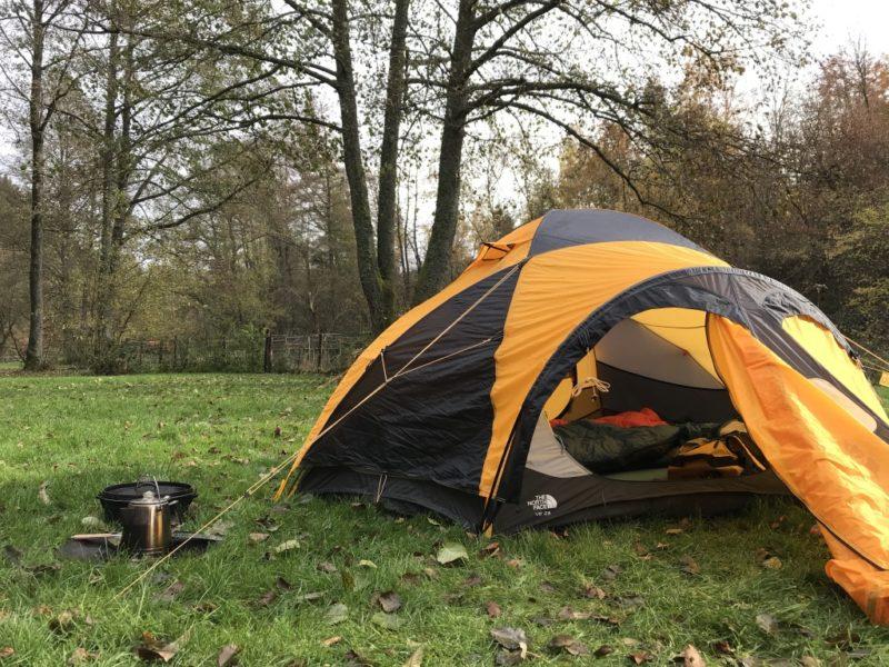 Zelten im November, Campingplatz Schafbachmühle, Schleiden, Eifel