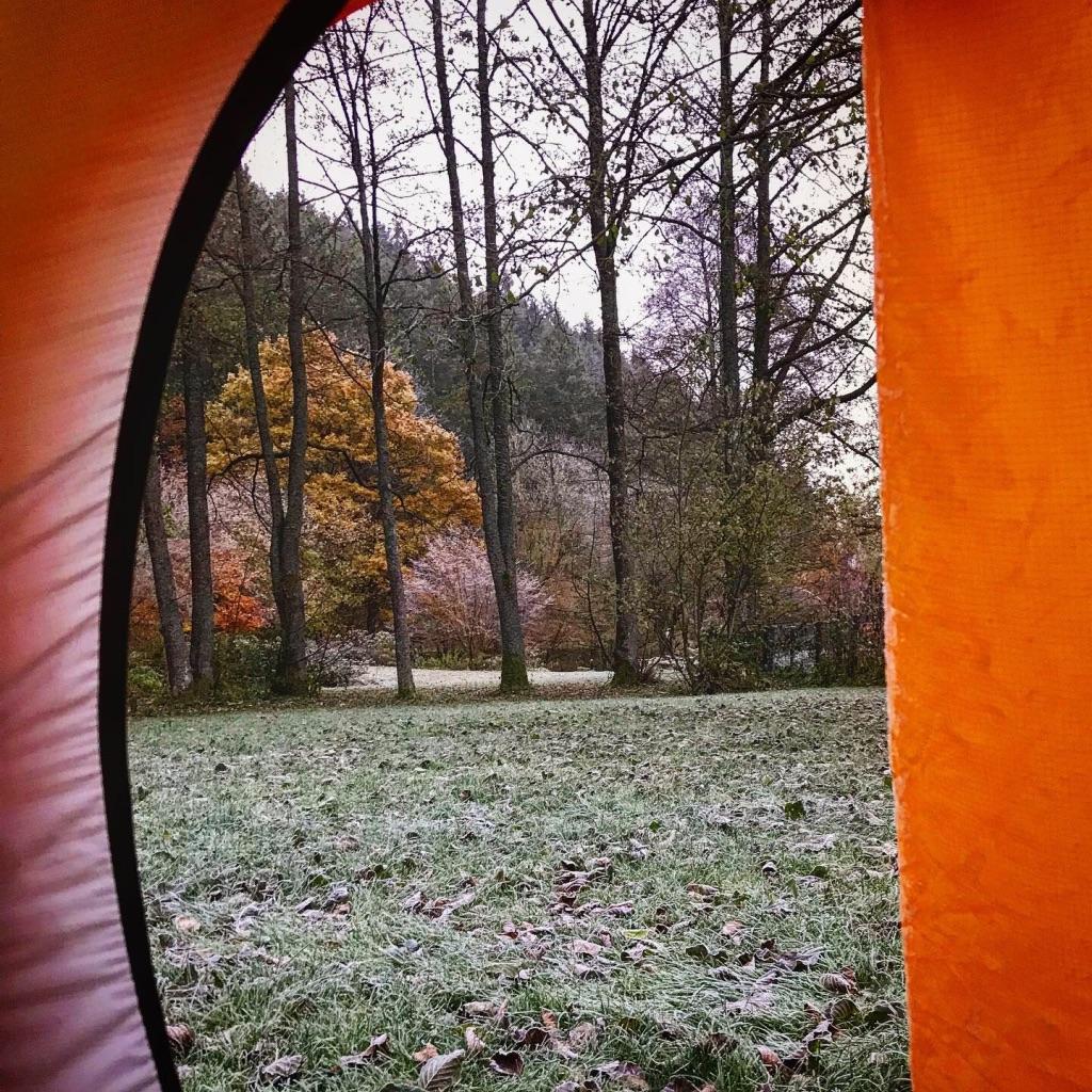 Wintercamping in der Eifel