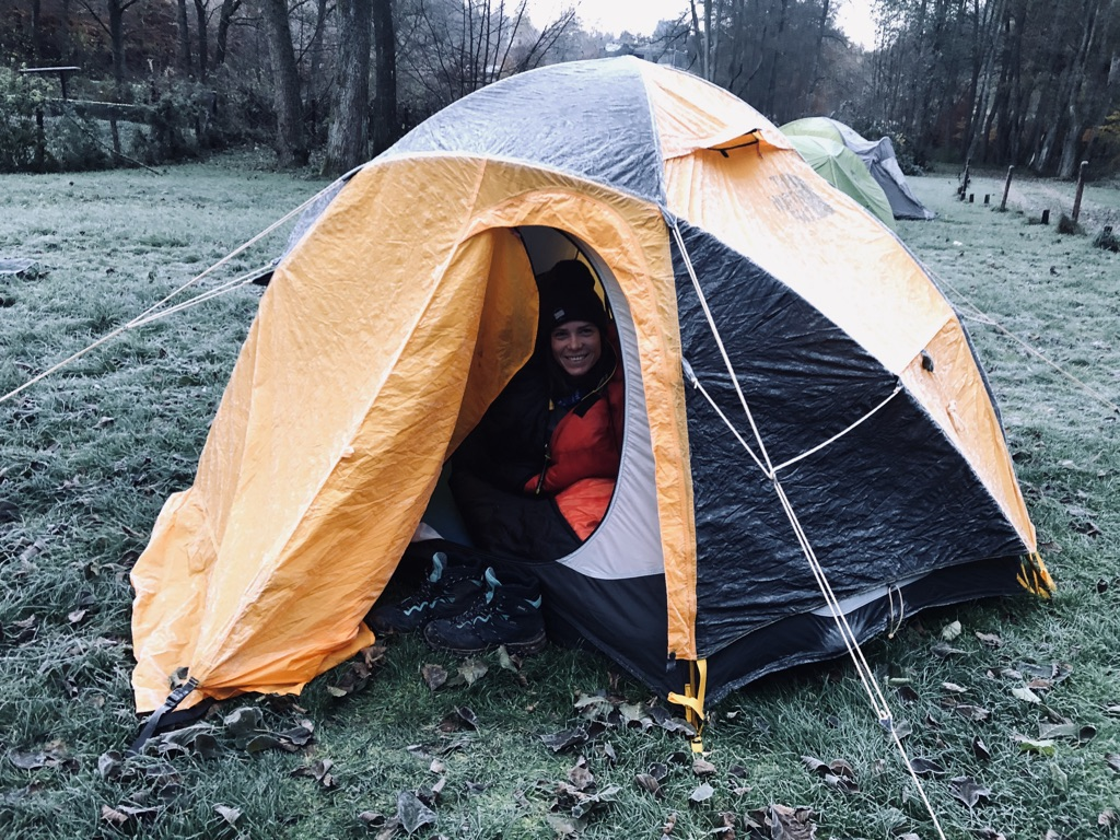 Wintercamping in der Eifel