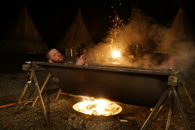 Wintercamping: Alternative Lagerfeuer