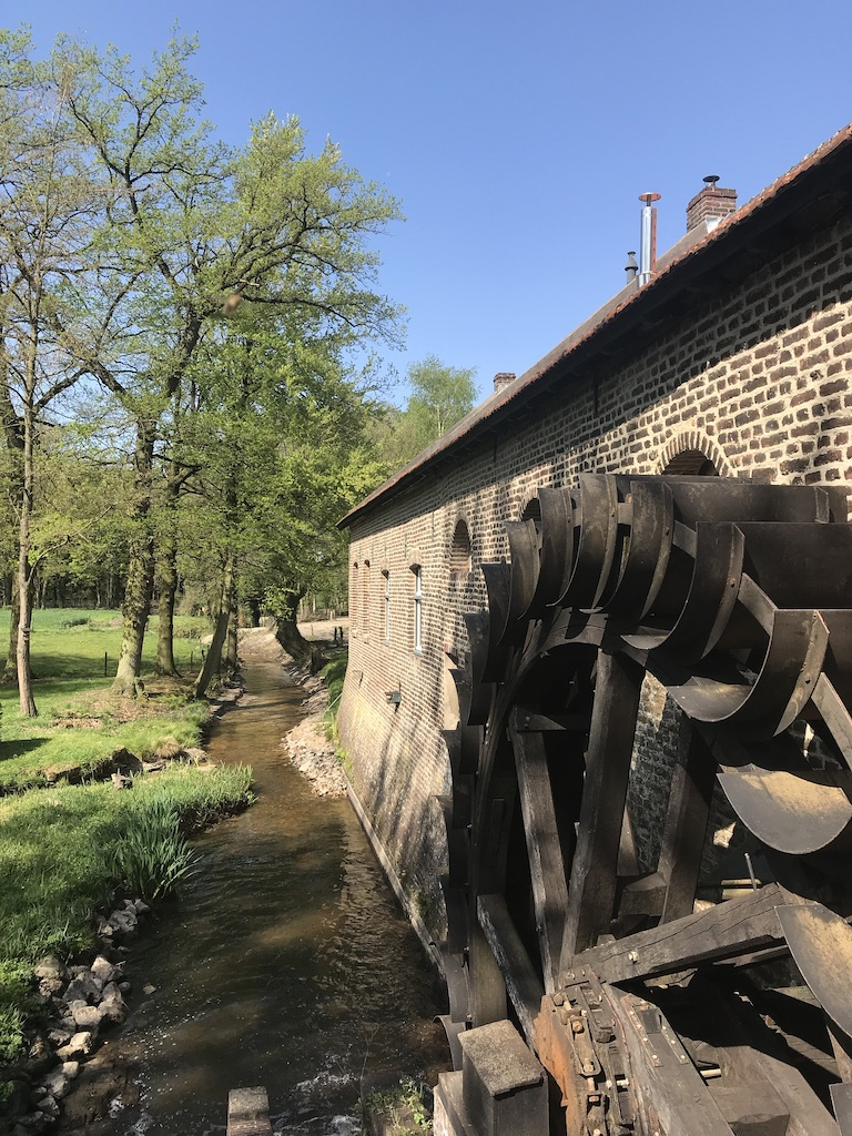 Gitstapper Mühle, Rote Beek Wandern im Nationalpark De Meinweg