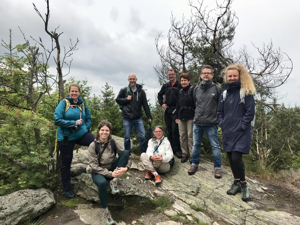 Auf dem Gipfel des Dylen (Tillenberg)