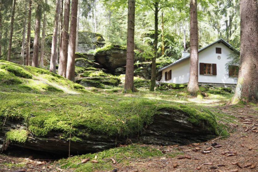Hütte am Ringelfelsen (Rinnlstein)