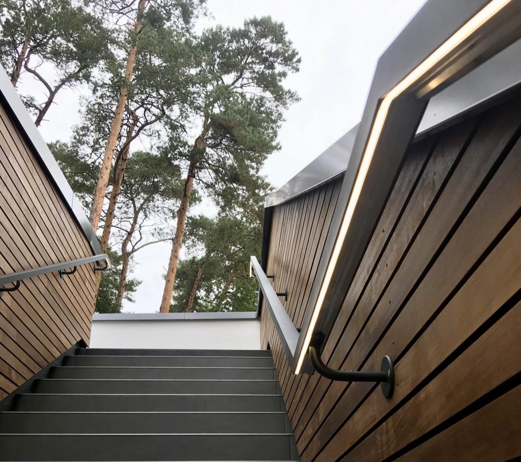 Westfalen-Therme WALDgarten: Moderne Architektur