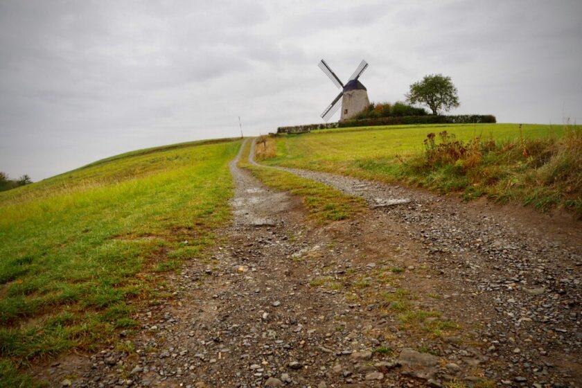 Bavenhausen Windmühle und Wanderaussicht