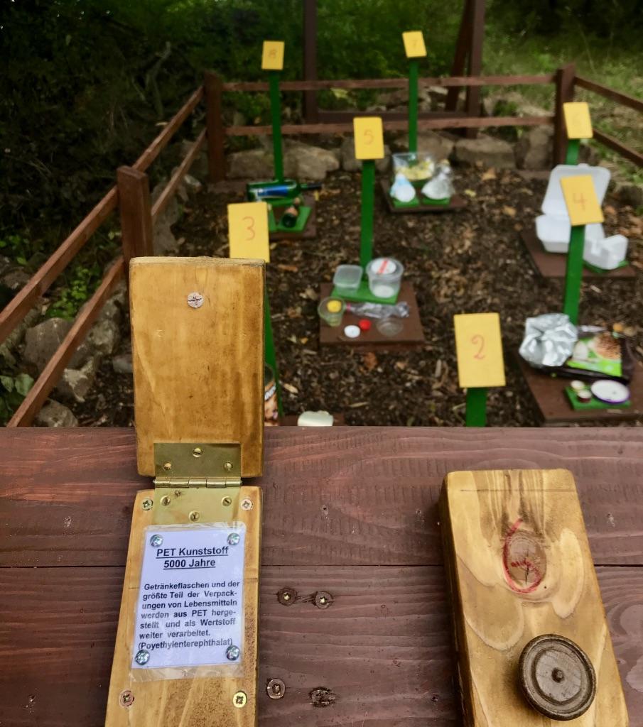 """""""Müll im Wald"""": Umweltbildung auf dem Waldfreundeweg im Kalletal"""