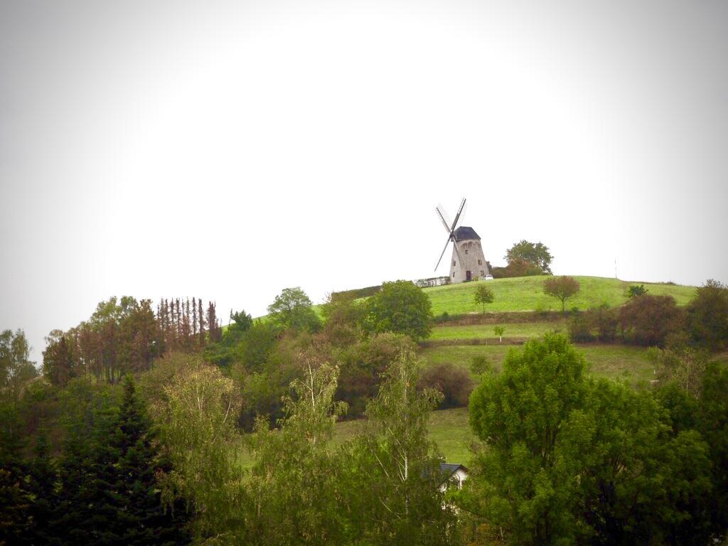 Blick auf die Bavenhauser Windmühle