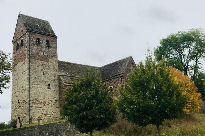 Ausgangspunkt der Wanderung: Die Kilianskirche in Lügde