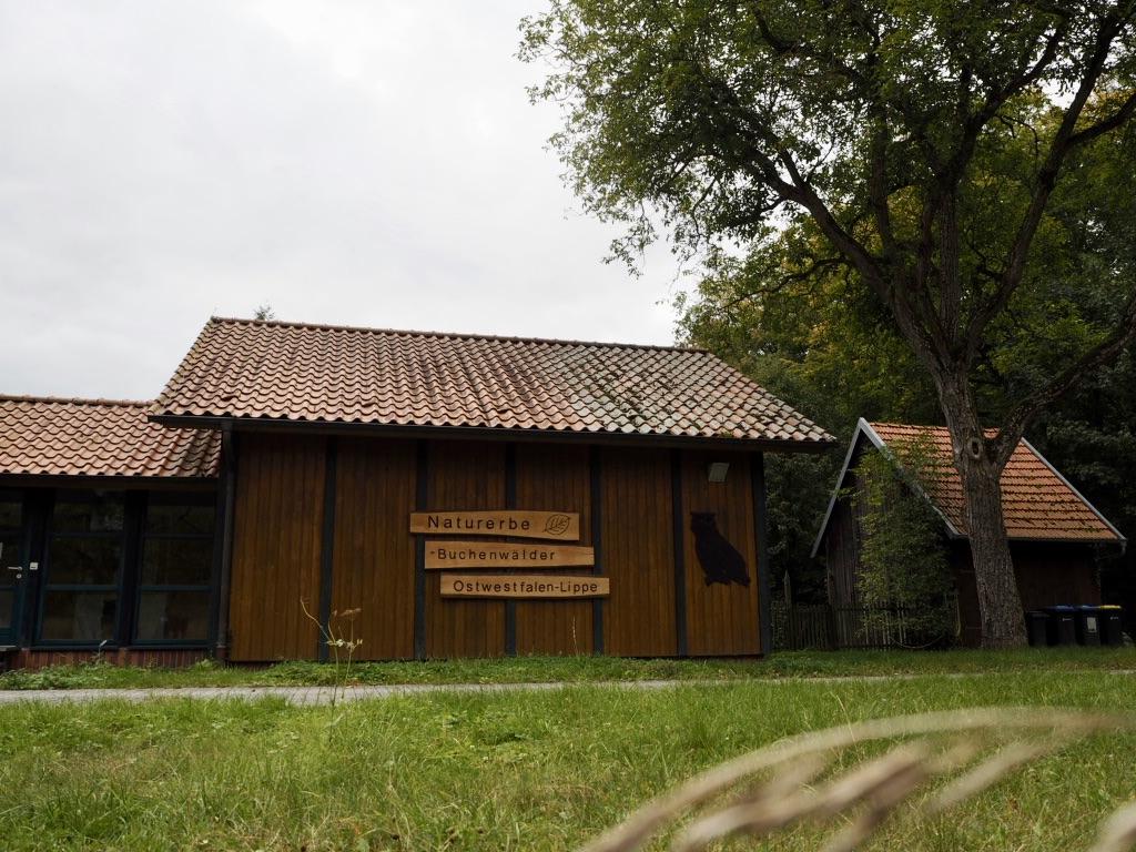 Ausgangspunkt für Wanderungen: Das Naturschutzzentrum Steinbeke