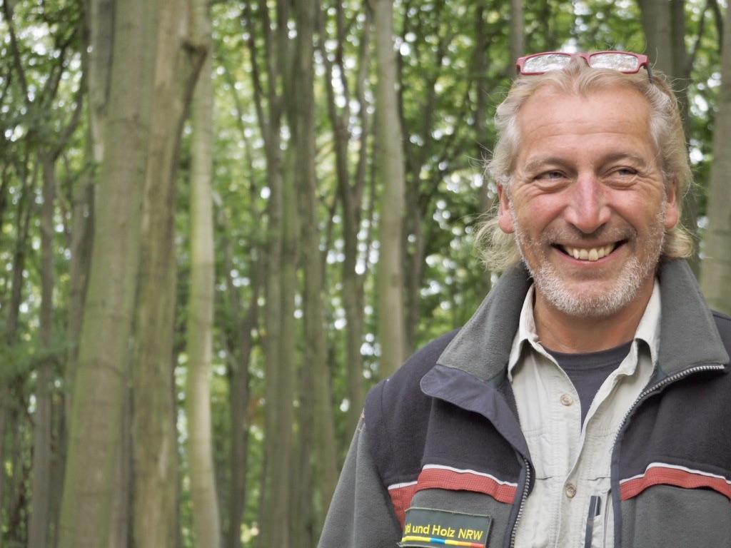 Ranger und Revierförster im Naturerbe-Wald Altenbeke