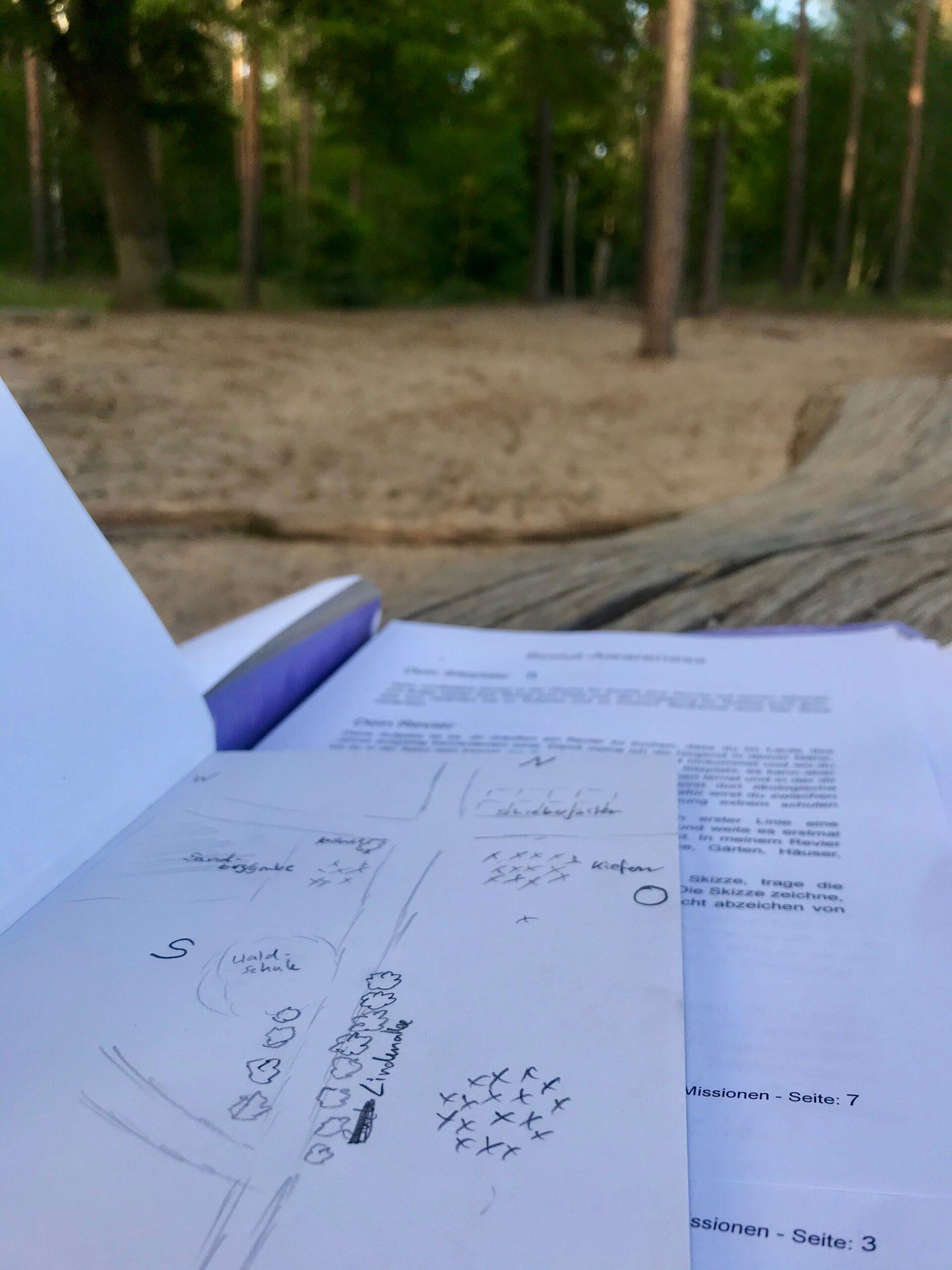 Wildnispädagogik-Ausbildung: Das Revier Zuhause entdecken
